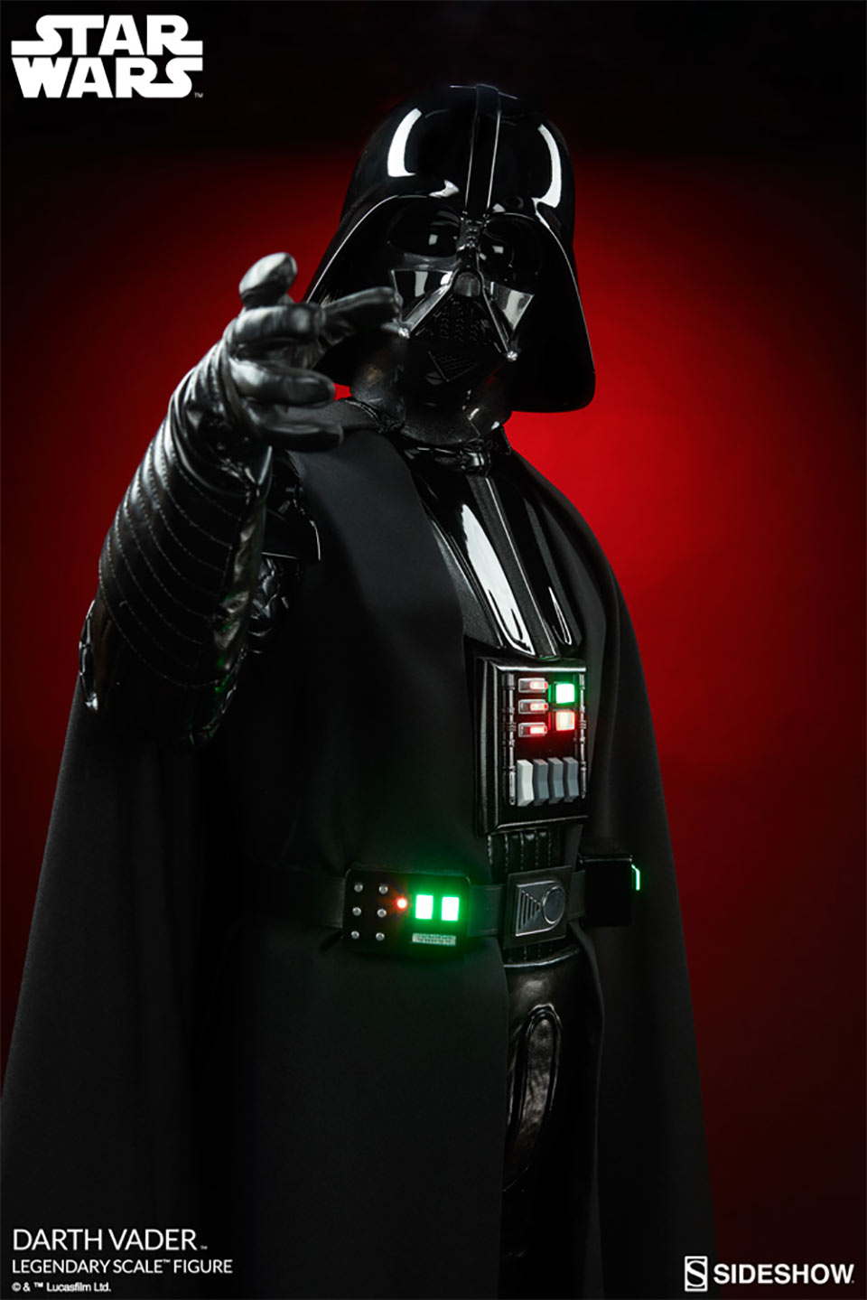 Legendary Scale Darth Vader Figure S Price Tag Is Pure