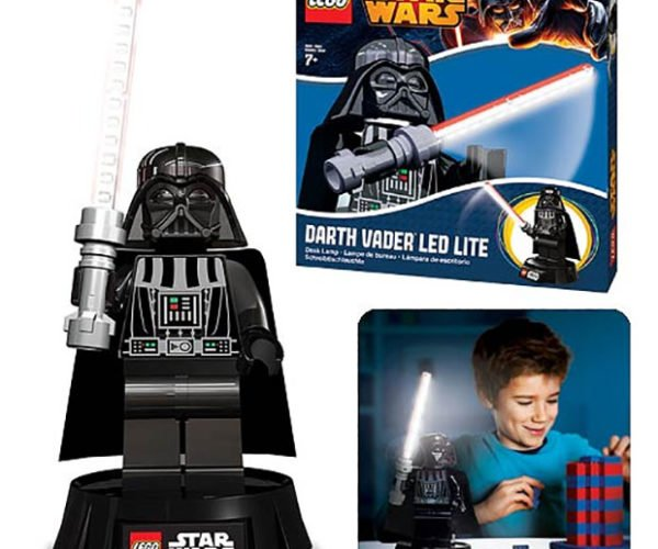 LEGO Star Wars Darth Vader LED Light is Pure Blocky Evil