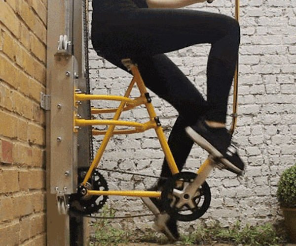 Vycle Is a Pedal Powered Elevator