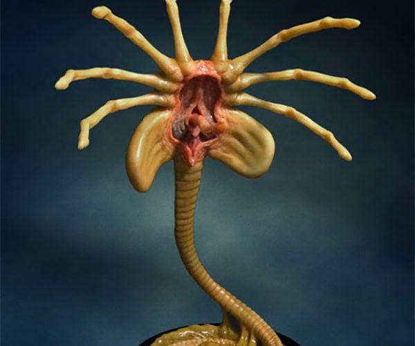 Alien Facehugger Prop Replica Is Supremely Nasty