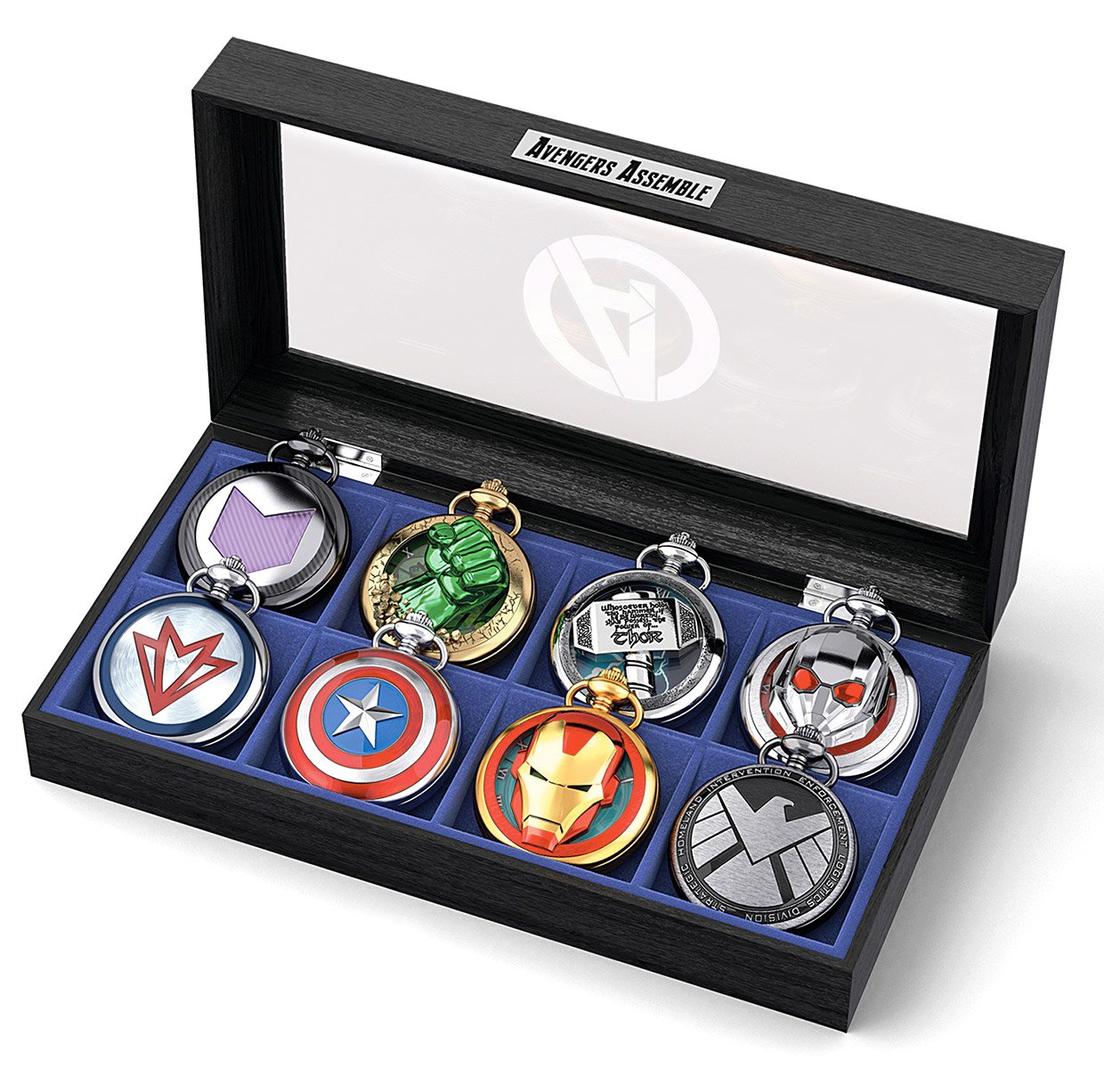 Avengers pocket watch collection for a marvelous time for Avengers watches