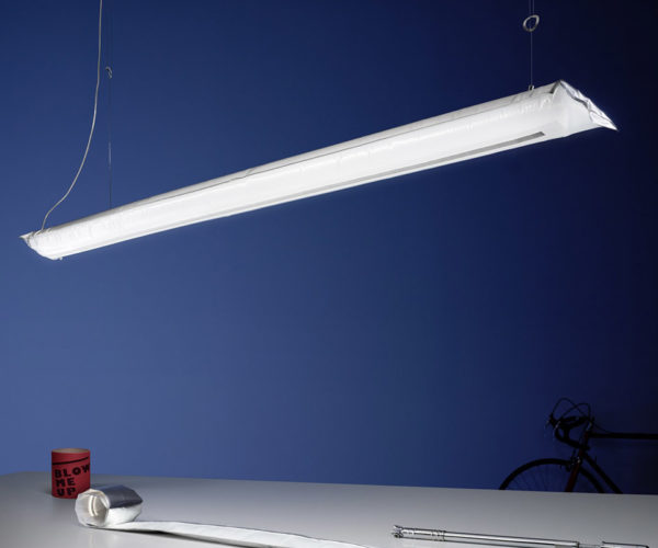 Blow Me Up Inflatable Lamp Is the Otto Pilot of Light Fixtures