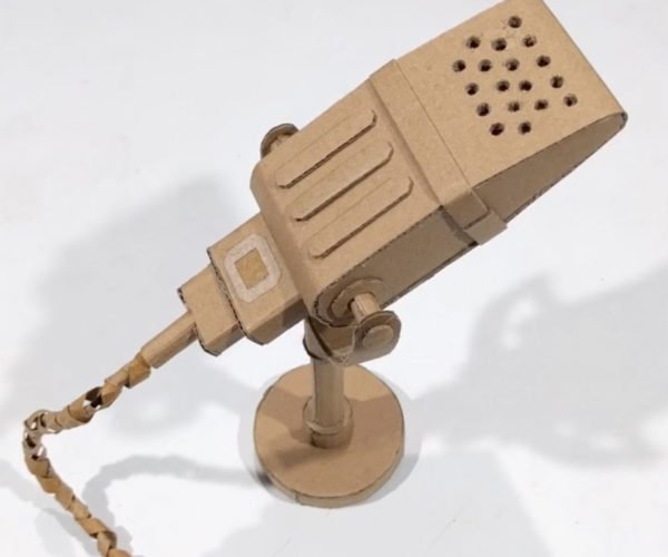 How to Build a Working Microphone from Paper: Cardboard Cardioid