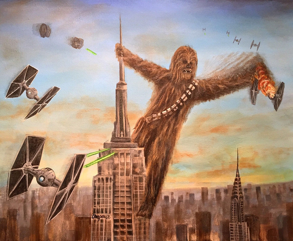 Image result for king kong on empire state