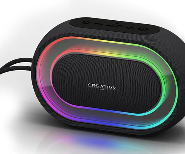 Creative Halo Bluetooth Speaker Adds a Splash of Color to Your Tunes