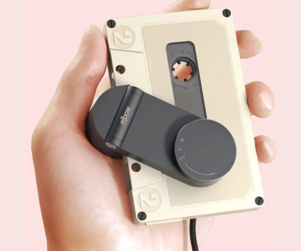 The Elbow Reinvents the Portable Cassette Player