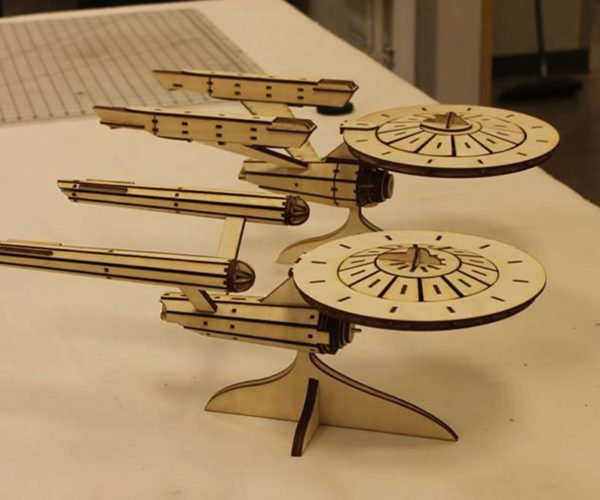 Flat-pack Star Trek Starship Kits Let You DIY Starfleet