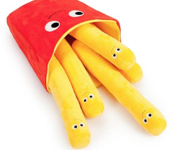 Yummy World Frankie Fries Jumbo Plush Toy: French Fry Fun!