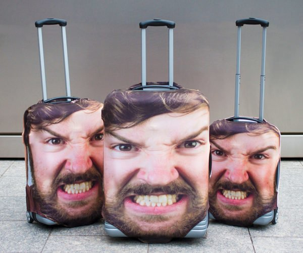 These Suitcase Covers Ensure Nobody Will Take Your Luggage by Mistake