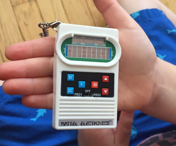 Mattel Pocket Football and Basketball Shrink Down to Keychain Size