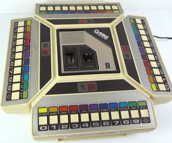 The Milton Bradley OMNI Was an 8-Track Tape Board Game