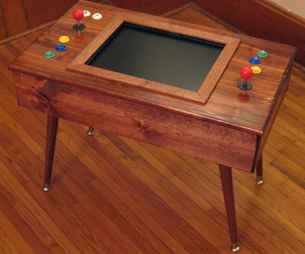This Mid-Century Modern Arcade Cabinet is Living Room Friendly