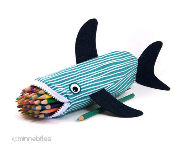 Keep Your Pencils in a Shark