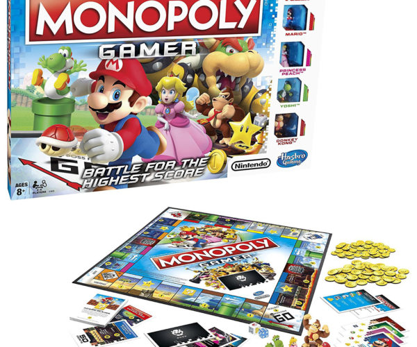 Monopoly Gamer Nintendo Edition Powers up the Board Game