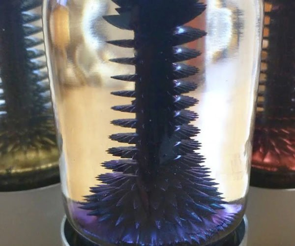 RIZE Ferrofluid Display Mesmerizes with Magnetism