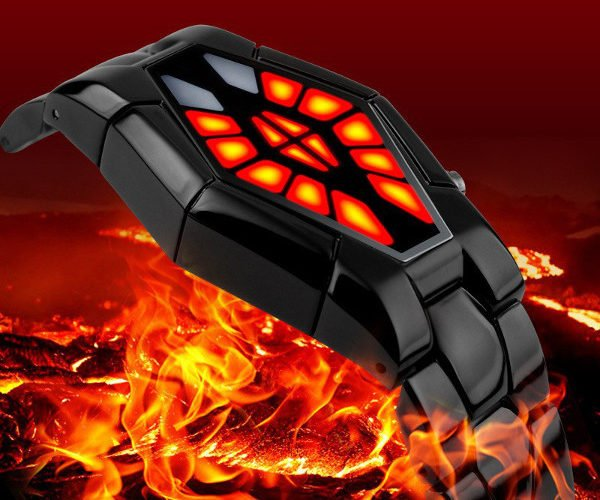 Skmei Ninja Watch Looks Like Something The Predator Would Tell Time with