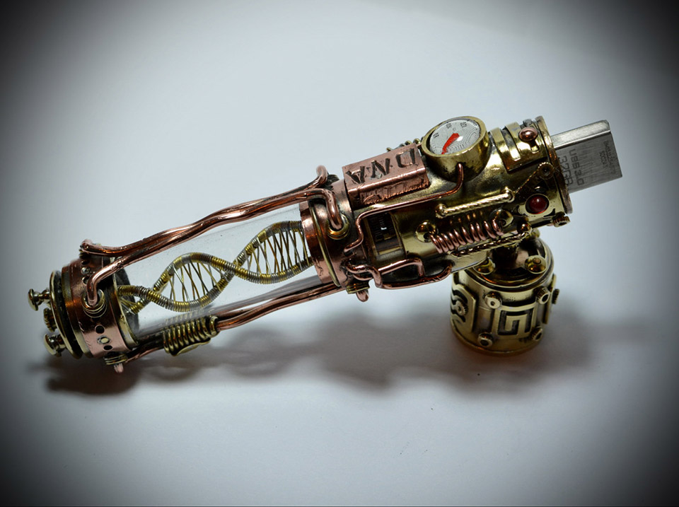 These Steampunk Flash Drives Are Insanely Awesome