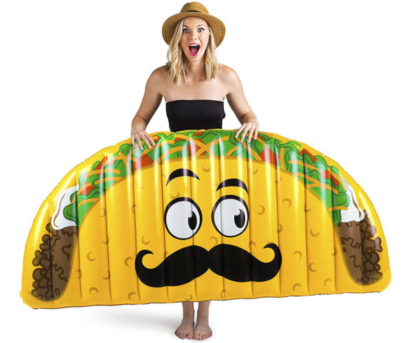 Let's Taco 'Bout This Goofy Pool Float