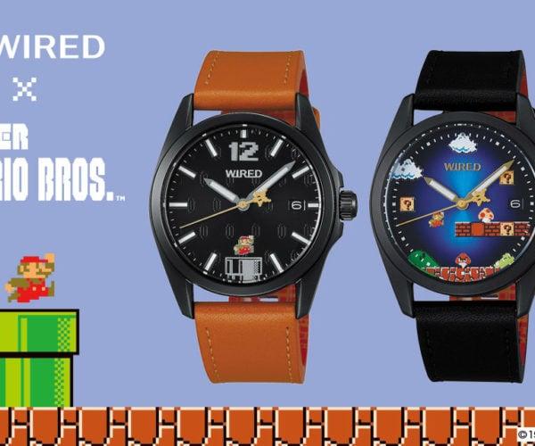 WIRED x Super Mario Bros. Watches: It's Mushroom Kingdom Time!