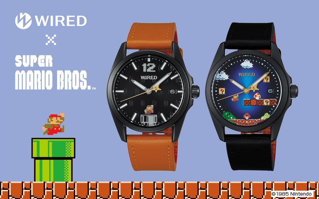 WIRED x Super Mario Bros. Watches: It\'s Mushroom Kingdom Time ...