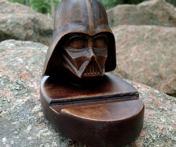 Darth Vader and Yoda Phone Stands: For the Bedside of the Force