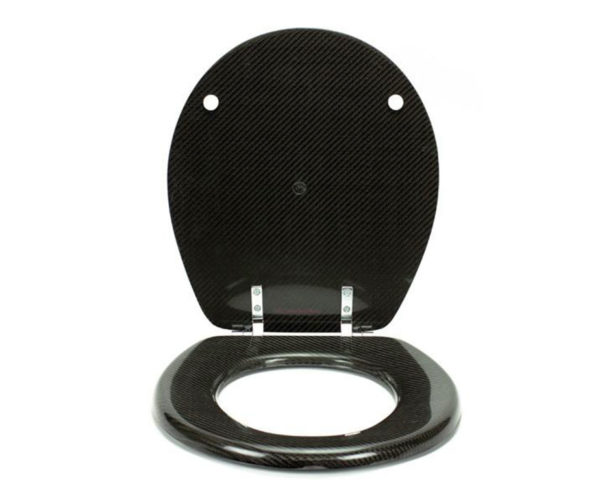 Carbon Fiber Toilet Seat: For High Performance Pooping