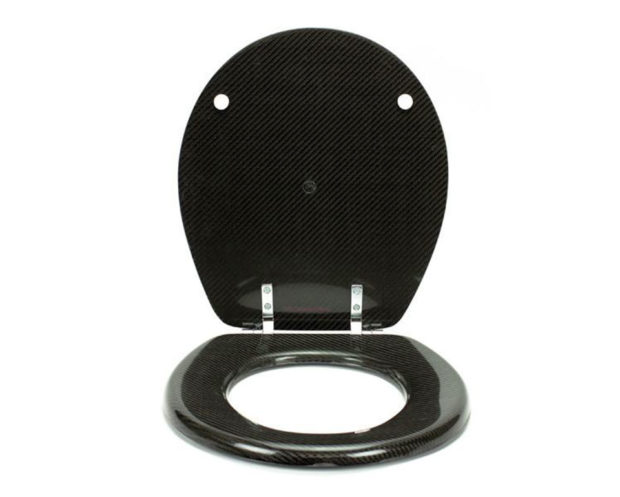 Carbon Fiber Toilet Seat: For High Performance Pooping - Technabob