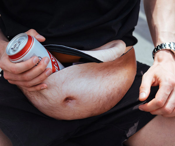 DadBag Fanny Pack Celebrates Beer Guts