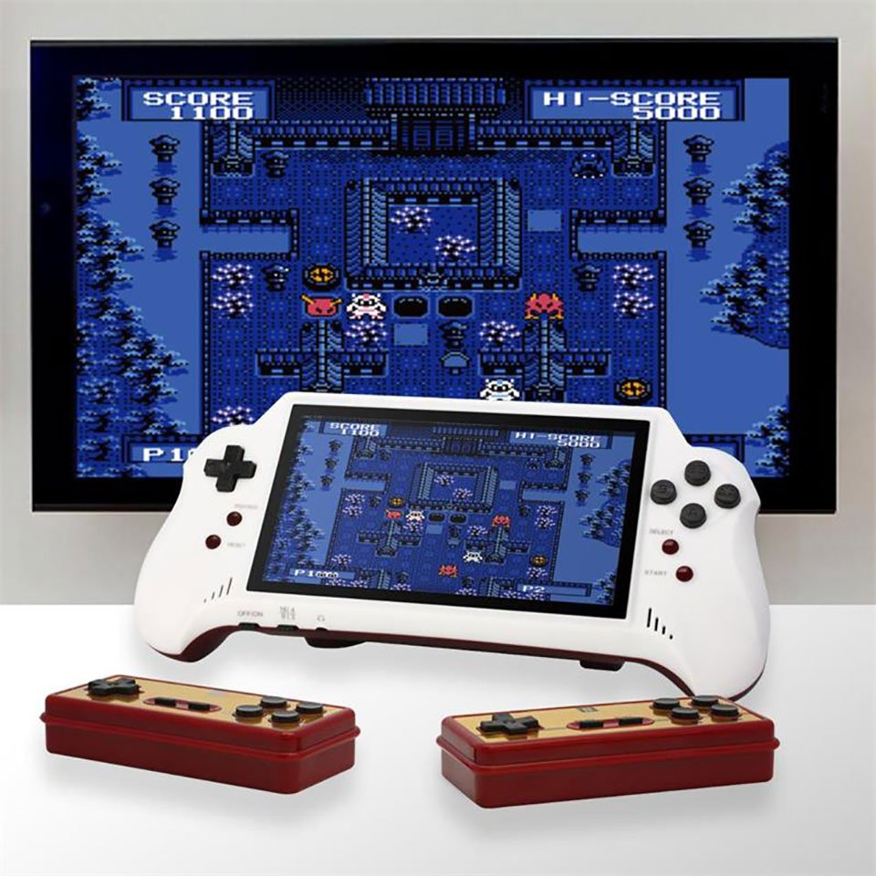 FC Pocket HDMI Combines Portable Famicom Gaming with HDMI Output - Technabob