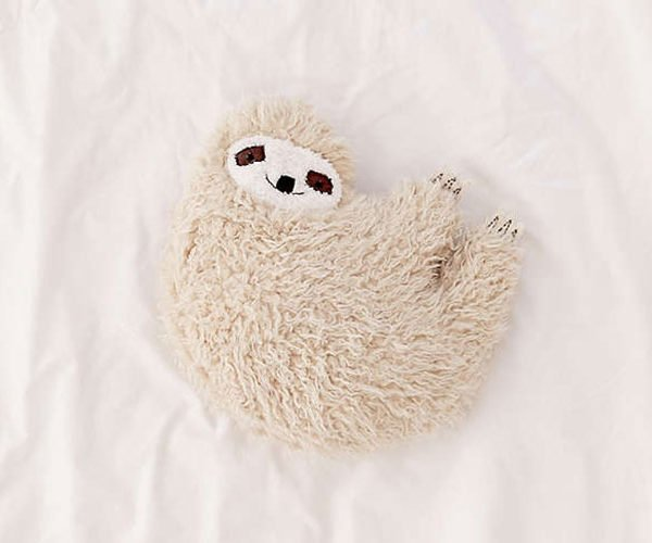 Every Couch Could Use a Furry Sloth Pillow
