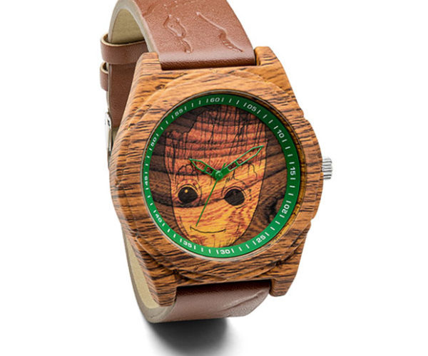 IAMA Groot Woodgrain Watch Contains No Actual Groot