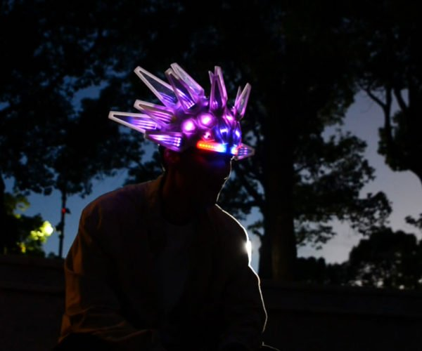 "Own This Awesome Light-up Helmet Replica Based on Jamiroquai ""Automaton"" Video"