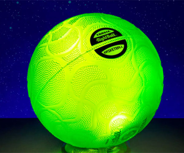 NightBall Illuminated Basketball Lets You Play in the Dark