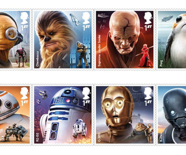 UK Royal Mail Getting New Star Wars Collectible Stamps