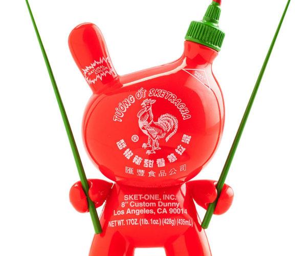 Bunny Rabbit + Sriracha = Sketracha Dunny