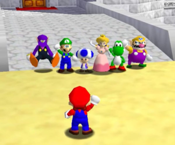 Super Mario 64 Gets Online Multiplayer Mod, Chaos Ensues