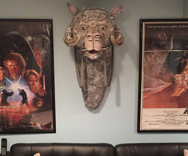 This Tauntaun Head Wall Trophy Will Dress up Any Space