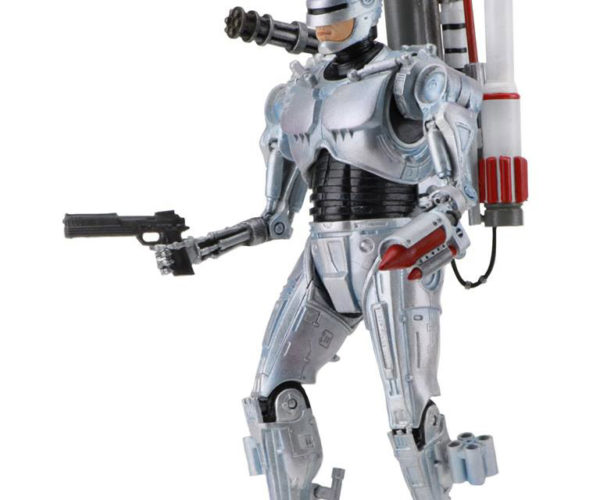 Ultimate Future RoboCop Is Loaded with Weapons, Packed up and Ready to Go