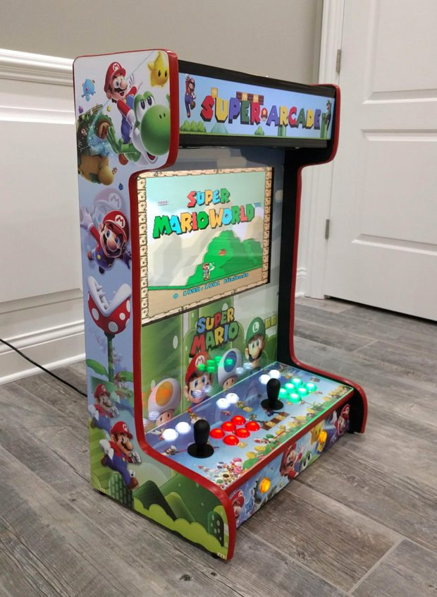 These Wall Mounted Arcade Cabinets Save Quarters And Space