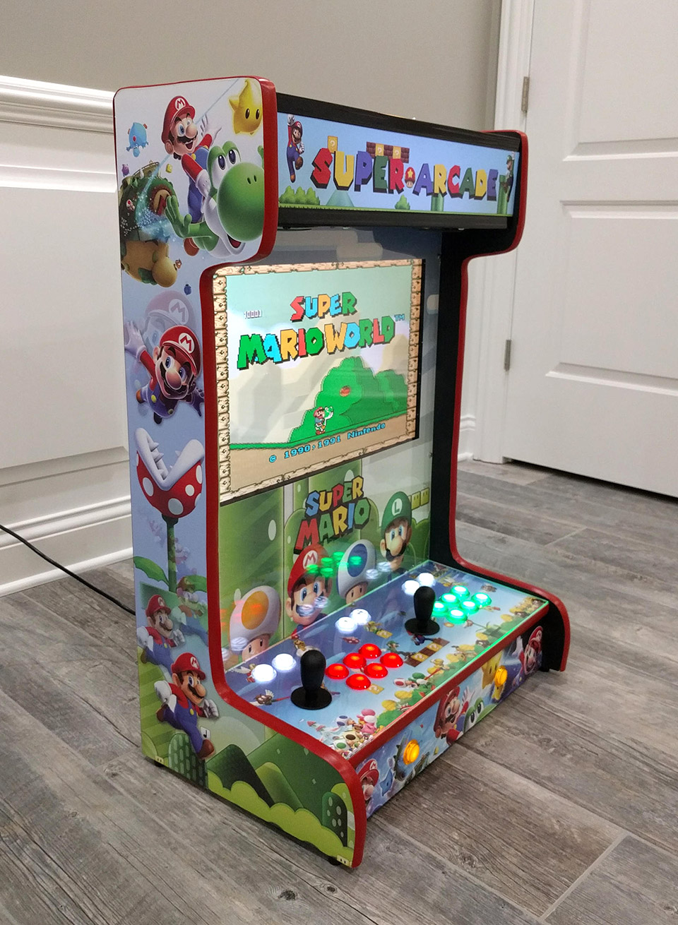 These Wall-Mounted Arcade Cabinets Save Quarters and Space - Technabob