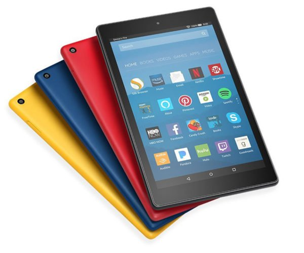 The 2017 Amazon Fire HD 8 Is the Perfect iPad Mini Alternative