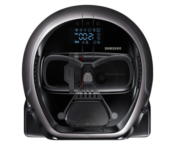 Samsung Darth Vader and Stormtrooper Robot Vacuum Cleaners: Suck! Suck! Suck!