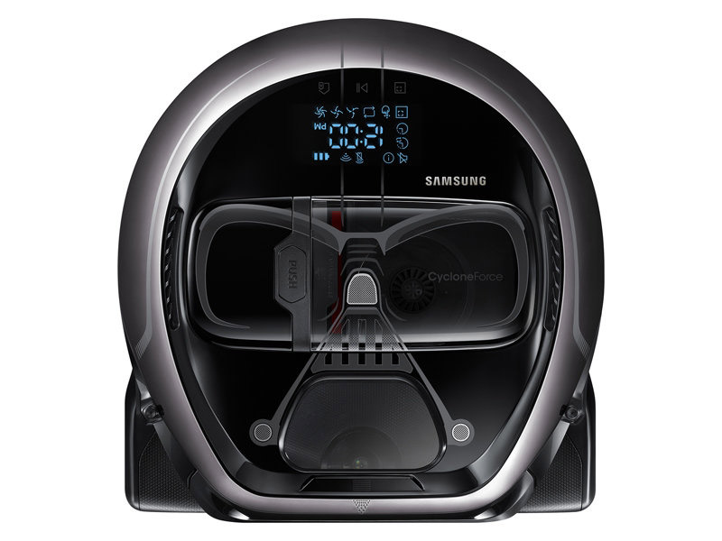 Samsung Darth Vader And Stormtrooper Robot Vacuum Cleaners