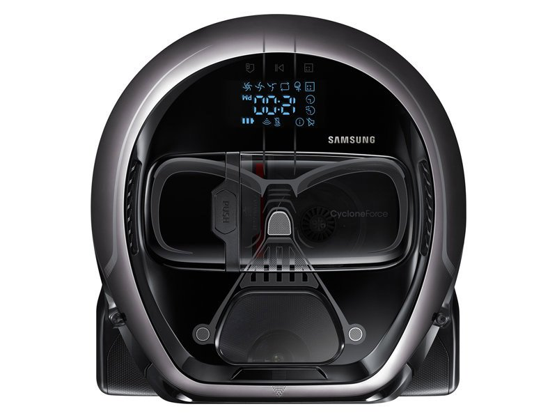 samsung darth vader and stormtrooper robot vacuum cleaners. Black Bedroom Furniture Sets. Home Design Ideas