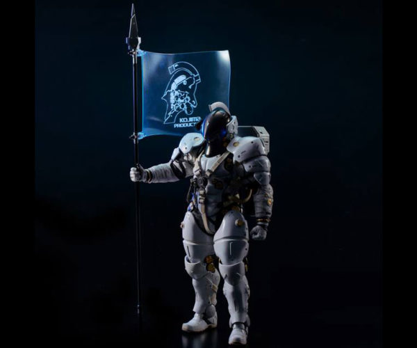 Sentinel x Kojima Productions Ludens 1/6 Scale Action Figure: Ludo with this Sapien