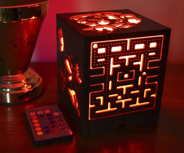 This Cool LED Nightlight Celebrates Classic Video Games