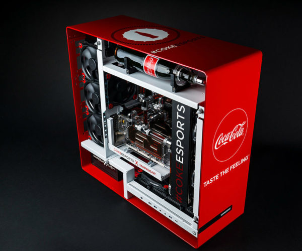 Coca-Cola PC Casemod: Have a CPU and a Smile