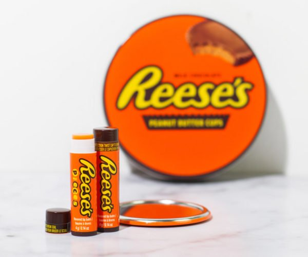 Reese's Peanut Butter Cup Lip Balm: You Got Your Peanut Butter Lips on My Chocolate Lips!