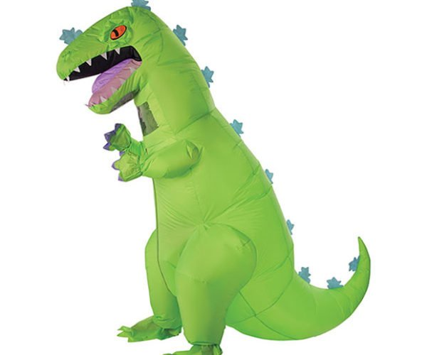 Rugrats Inflatable Reptar Costume Ready for Halloween Antics