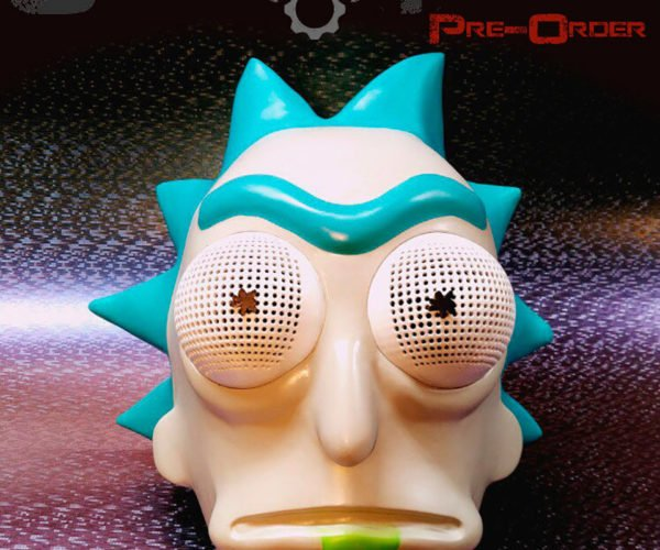 Show Them What You Got with This Rick Sanchez Costume Head
